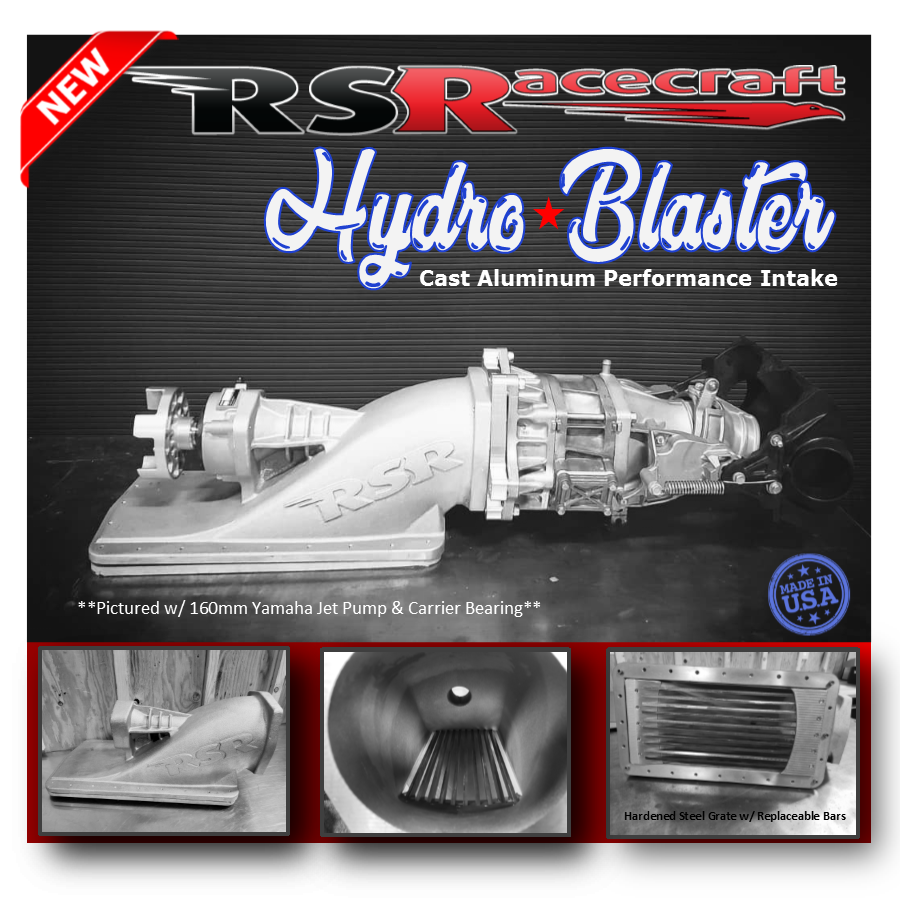 New Product Release ~ RSR Hydro Blaster Jet Boat Intake – RSRacecraft